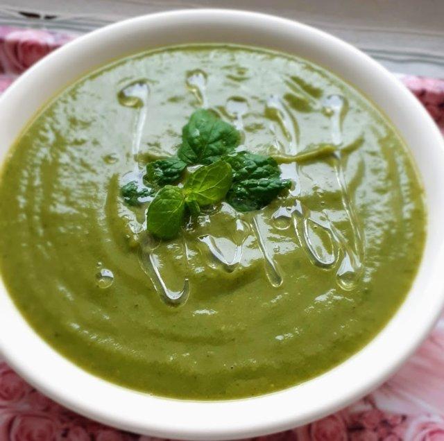 Rauhoittava vihreä keitto 4
