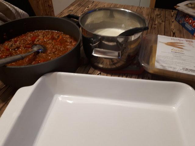 Lasagne tuorepastasta 2