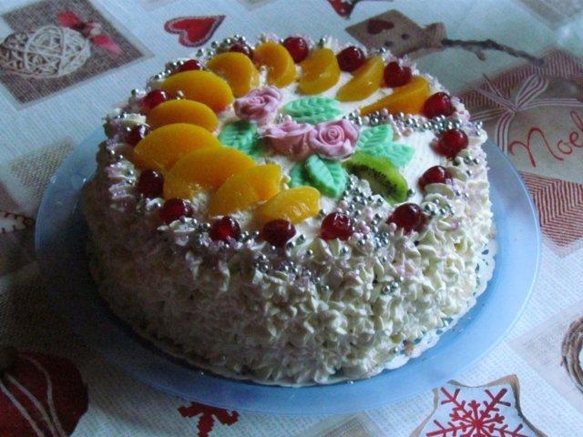 Reseptikuva: 80-vuotiaalle kakku 1