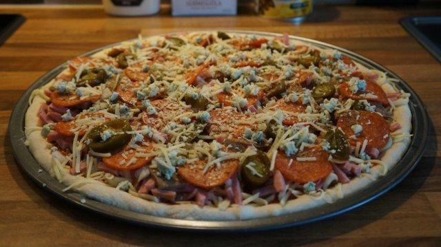 Kotikokkaajan helppo pizzaresepti 3