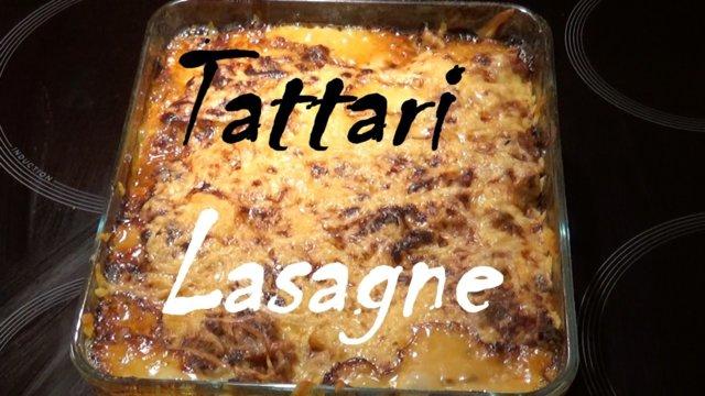 Tattari lasagne (gluteeniton) 1