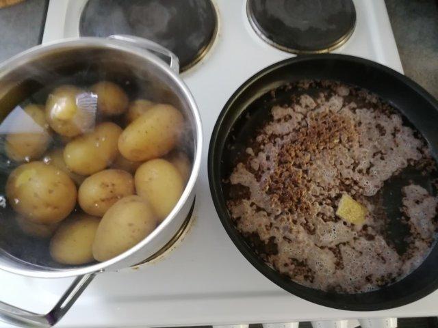 Vegaani perunasoselaatikko