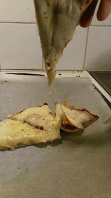 juusto pizza