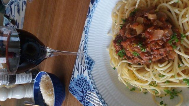 Meidän spaghettikastike 29.8.2019 2