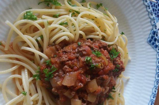 Meidän spaghettikastike 29.8.2019 1