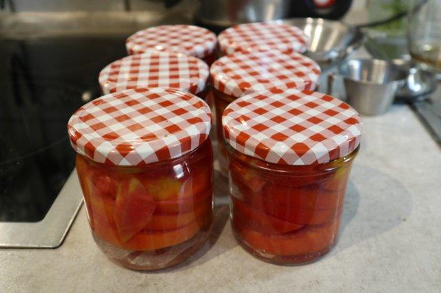 Reseptikuva: tomaatti säilöntä 29.8.2019 1