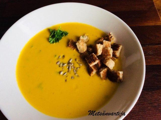 Porkkanasosekeitto Helppo ja maukas 1