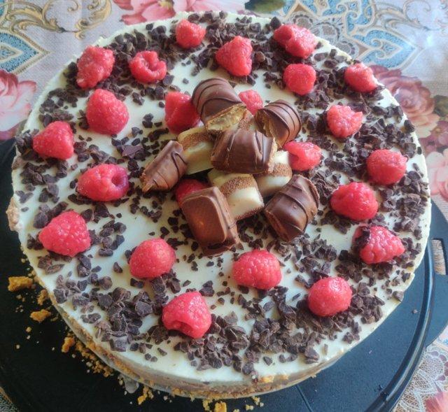 Reseptikuva: Kolmen suklaan juustokakku 1