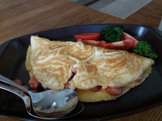 Nakki-omelettilounas  23.10.2019 1