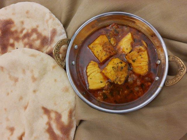 Reseptikuva: Intialainen kala curry 1
