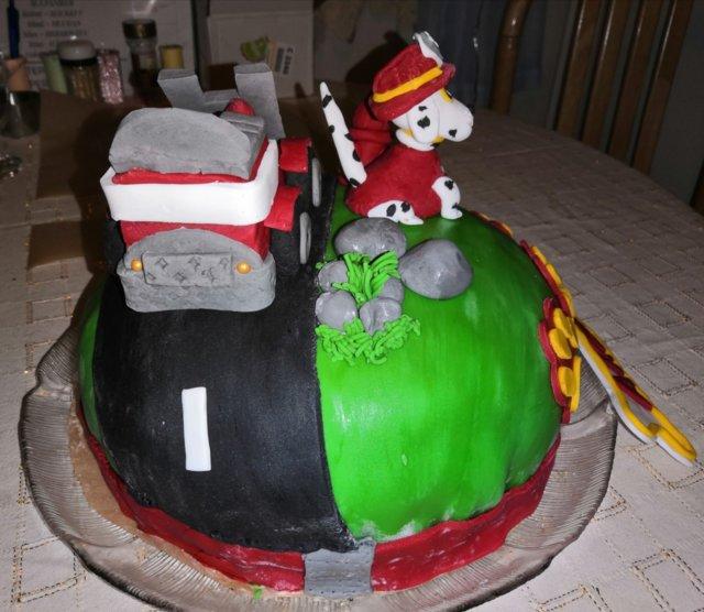Paw patrol kakku 3