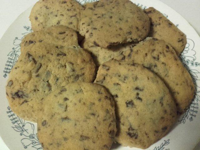suklaa hippu keksit 1