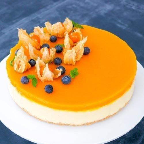 Mango juustokakku 1