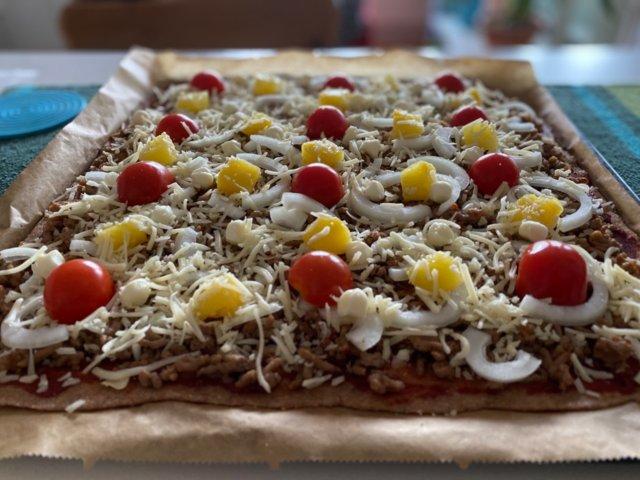 Reseptikuva: Pizzapohja ilman hiivaa 1