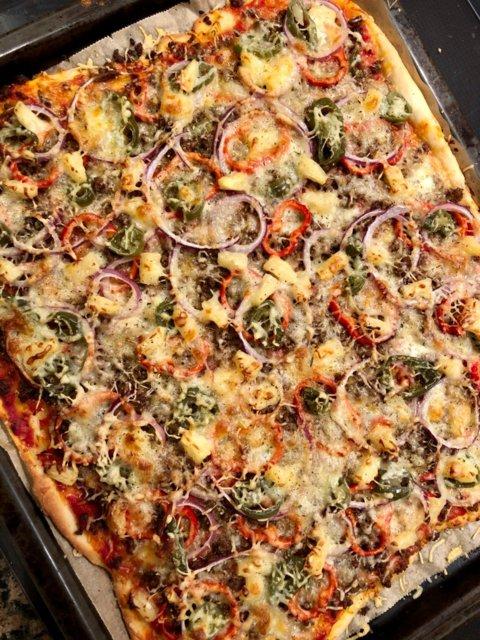 Reseptikuva: Mexicanapizza (pellillinen) 1
