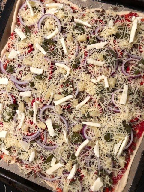 Reseptikuva: Mexicanapizza (pellillinen) 4