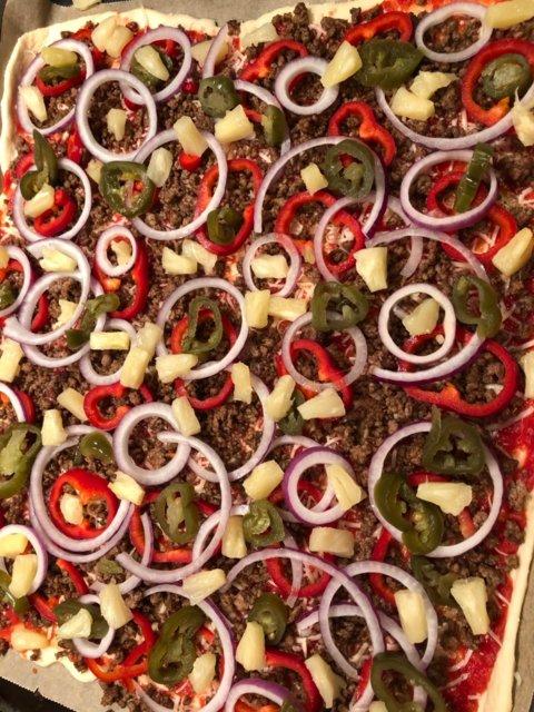 Reseptikuva: Mexicanapizza (pellillinen) 3