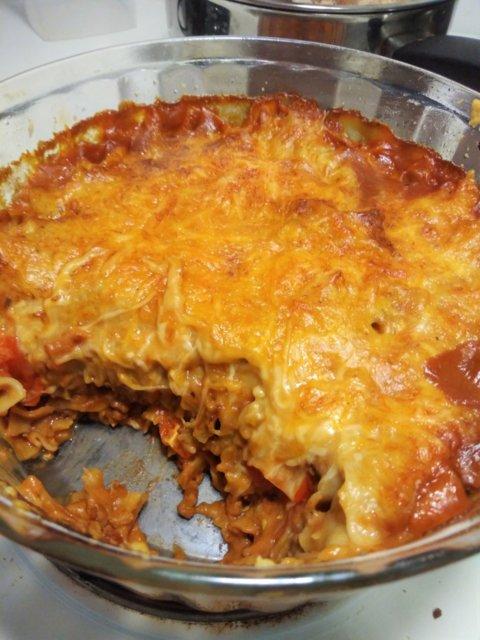 Reseptikuva: Kaurajauhis -lasagnette 1