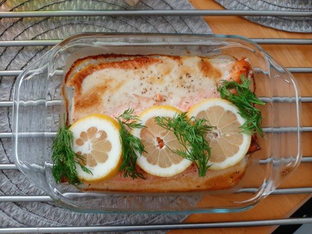 Reseptikuva: Sitruunainen Uunikala 1
