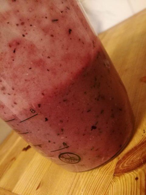 Vegaaninen smoothie 1