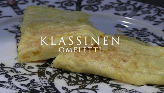 Reseptikuva: Klassinen munakas eli omeletti 1