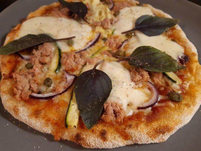 Reseptikuva: Grillattu pizza 25.7.2020 4