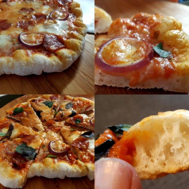 Reseptikuva: Grillattu pizza 25.7.2020 2