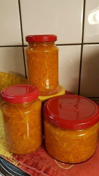 Reseptikuva: Säilötty porkkanaraaste 1