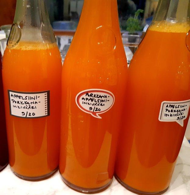 Reseptikuva: Porkkana-appelsiini-inkiväärimehu 20.9.2020 1