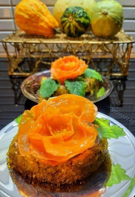 Reseptikuva: Porkkanakääretortusta leivoksia 2