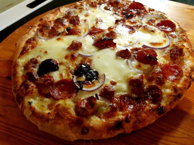 Reseptikuva: Napolilaistyyppinen pizza 16.11.2020 6