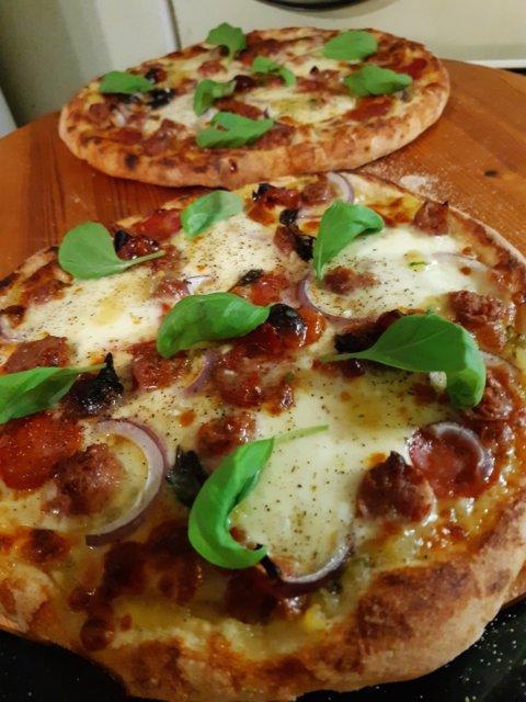 Reseptikuva: Napolilaistyyppinen pizza 16.11.2020 5