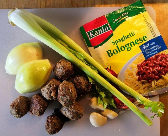 Reseptikuva: Spaghetti Bolognese 2