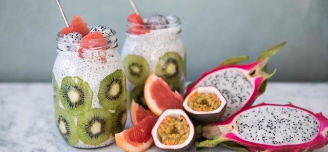Reseptikuva: Chiavanukas ja kiivi-hedelmää 1