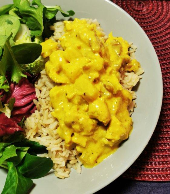 Reseptikuva: Pehmeä, ananaksinen currykastike 1
