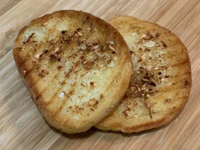 Reseptikuva: Skopjen Valkosipulileipä 1