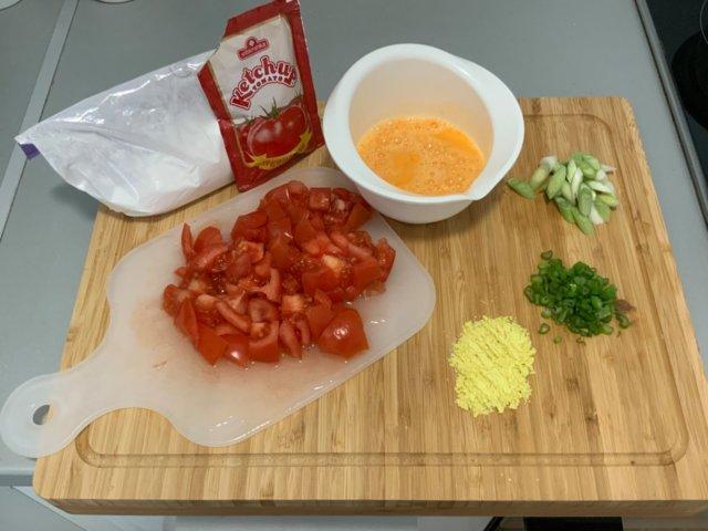 """Reseptikuva: My Style kiinalainen """"Tomaattia & Kananmunaa"""" 2"""