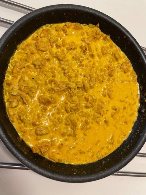 Reseptikuva: Kermainen curry-limekanapasta 1
