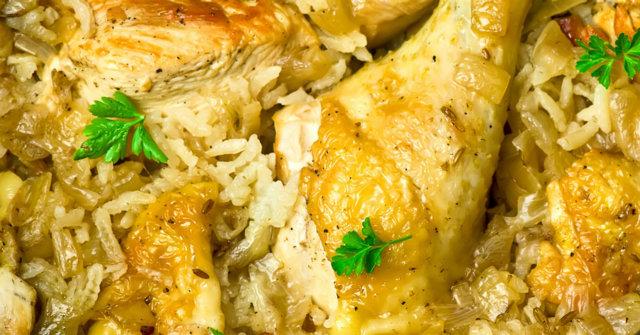 Reseptikuva: Kanakoivet riisipedillä 1