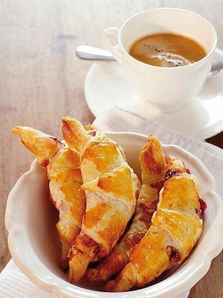 Reseptikuva: Mustikka Croissantit 1