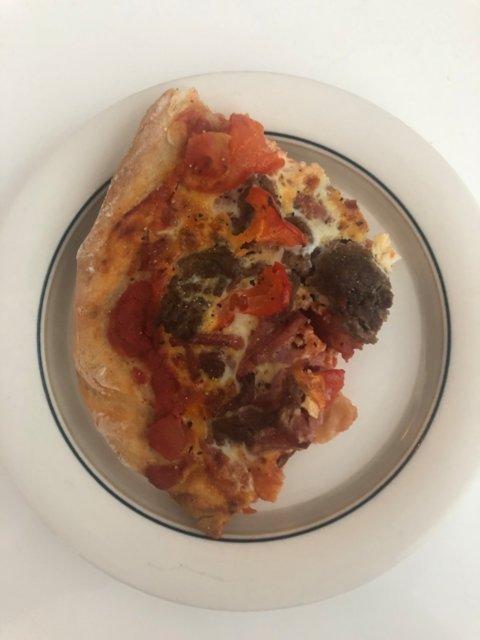 Reseptikuva: Juustoton pizza 1