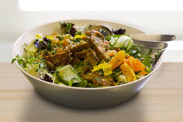 Reseptikuva: Puutarhan parhaita ja manteli-sitruunaleivitettyä seitania 1