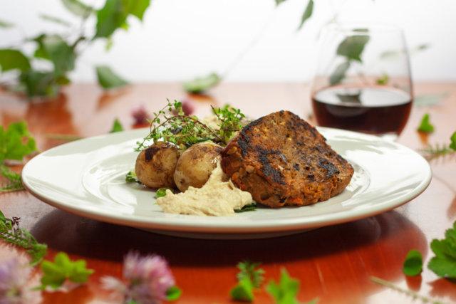 Reseptikuva: The kasvissyöjän grillipihvi seitanista 1