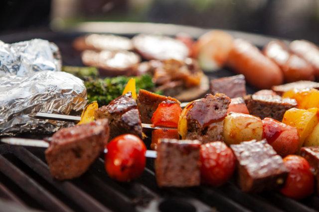 Reseptikuva: Varras grilliin Artesaaniseitanista ja kasviksista 1