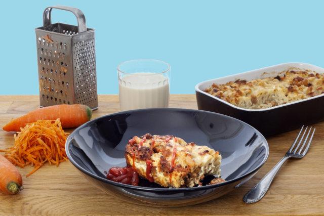 Reseptikuva: Maailman paras vegaaninen makaronilaatikko 1