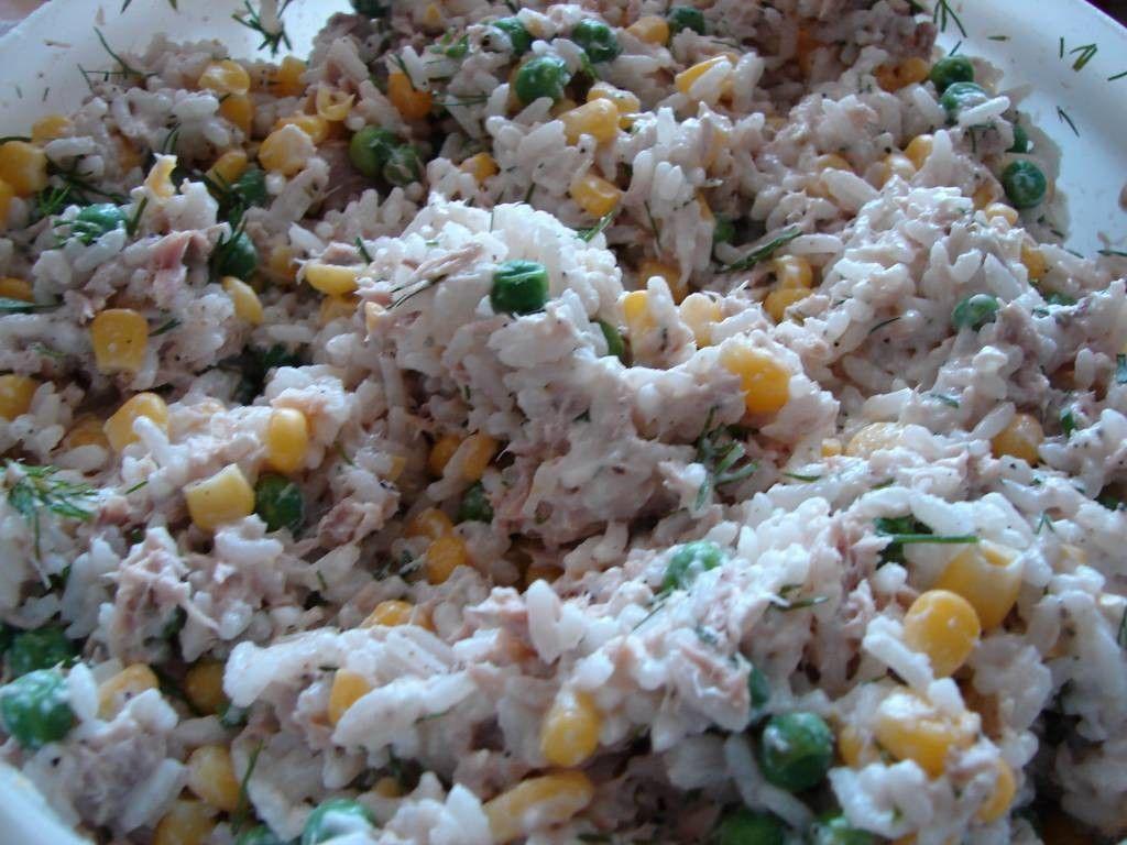 Riisi Tonnikalasalaatti