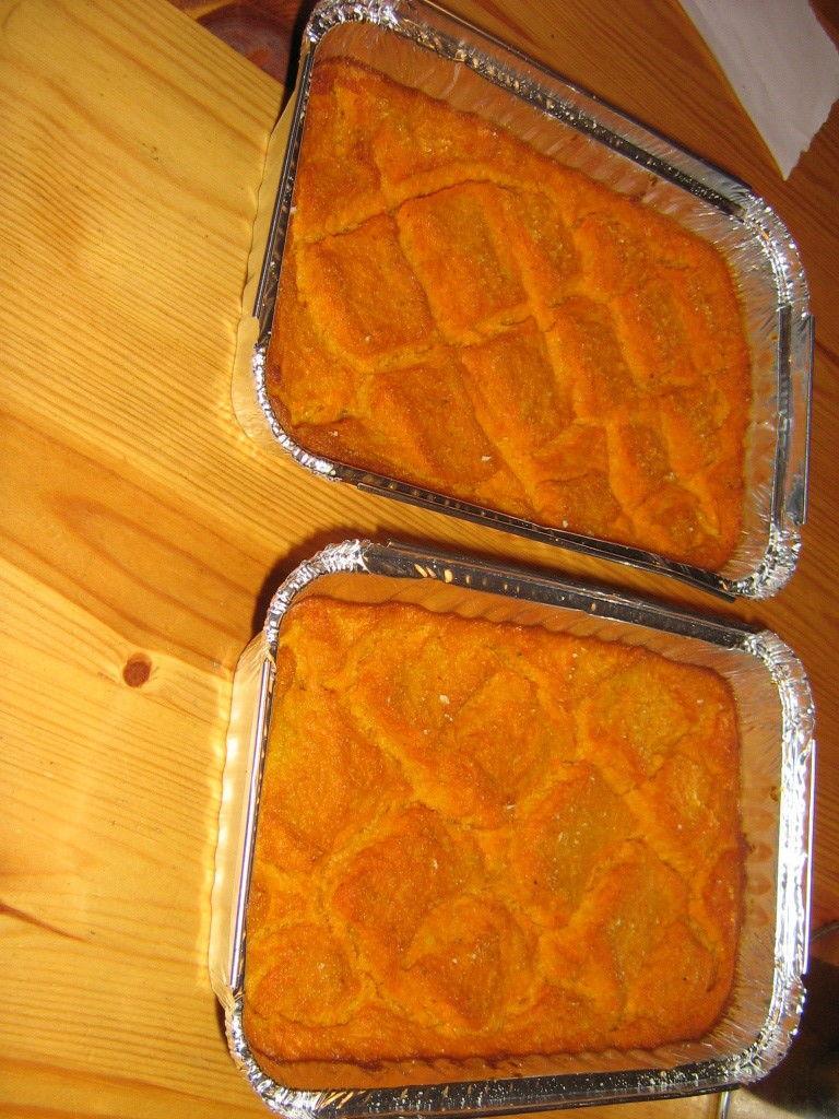 Porkkanalaatikko Mausteet