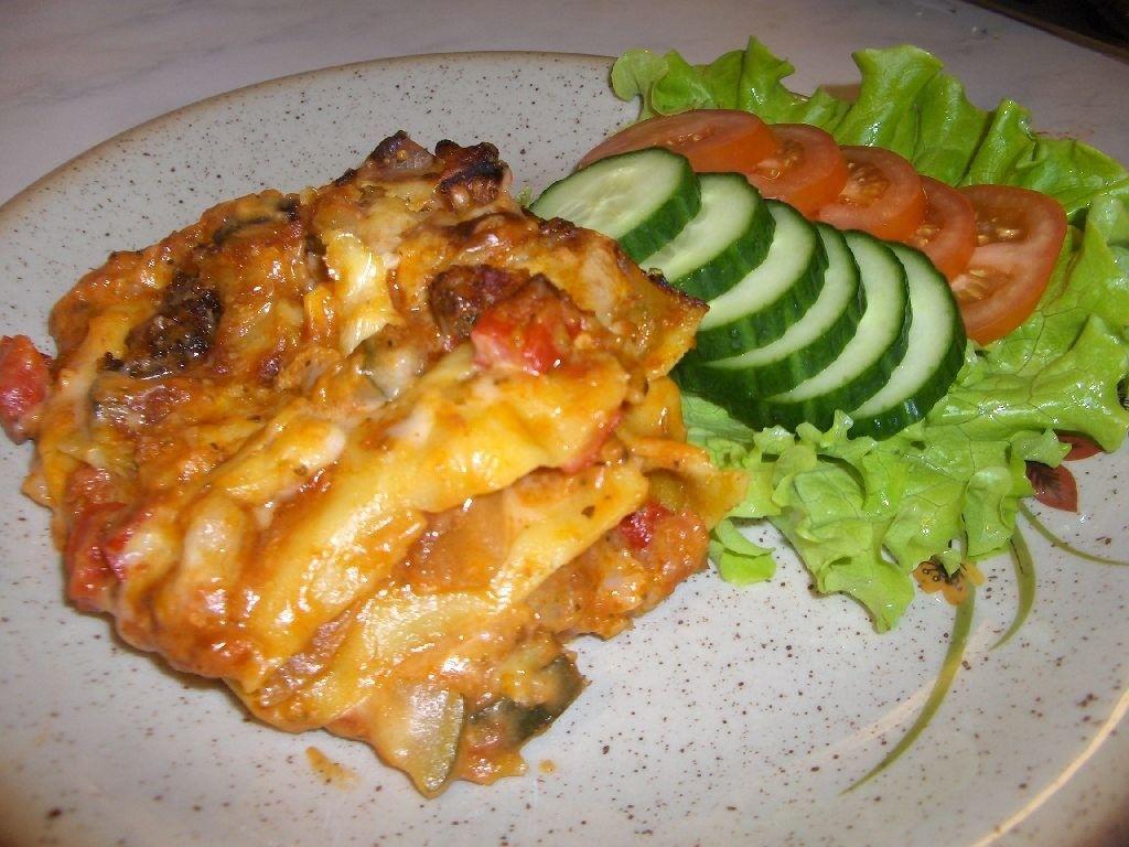 Kasvis Lasagne
