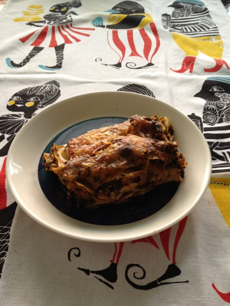 Pinaatti Lasagne