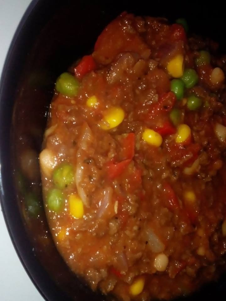 Chili Sin Carne Resepti